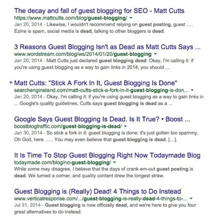 The truth about guest posting & KPIs   Digital Brand Marketing   Scoop.it