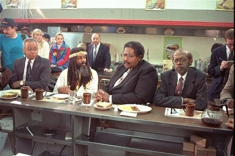 The Black Students Who Wouldn't Leave the Lunch Counter | Segregation: Why not intergration? | Scoop.it