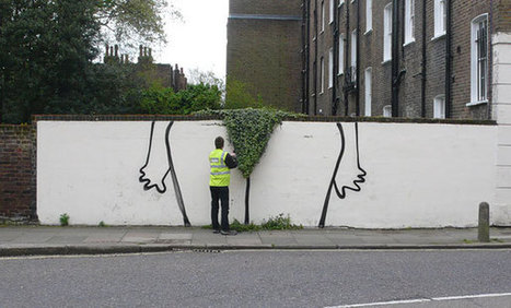 Bush: New Street Art Installation by Banksy | World of Street & Outdoor Arts | Scoop.it