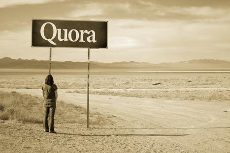 Quora, la boîte à questions communautaire du Web social - Diplomatie Digitale | Recherche sociale | Scoop.it