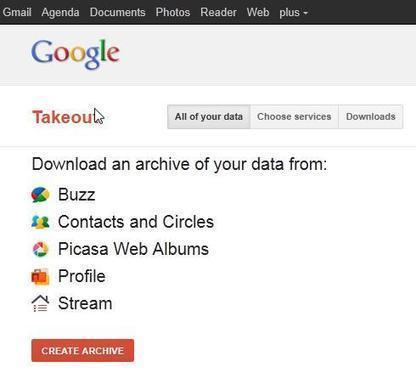 Comment récupérer ses données stockées chez Google, Google Takeout | Ballajack | François MAGNAN  Formateur Consultant | Scoop.it