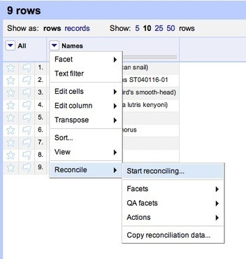 Using Google Refine and taxonomic databases | Agricultural Biodiversity | Scoop.it