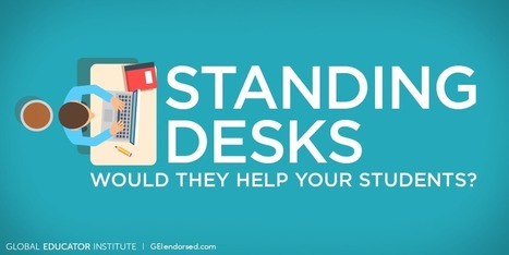 Are Standing Desks the Next Big Thing in Education? - Global Educator institute | Educational | Scoop.it