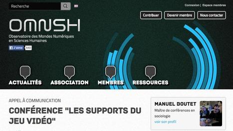 """[Game Studies ? à la française !] Conférence """"Les supports du jeu vidéo""""   OMNSH   Le BONHEUR comme indice d'épanouissement social et économique.   Scoop.it"""