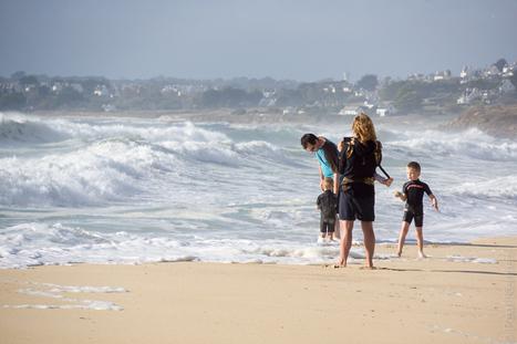 Bretagne - Finistère :  après le coup de vent, sur la plage (4 photos) | photo en Bretagne - Finistère | Scoop.it