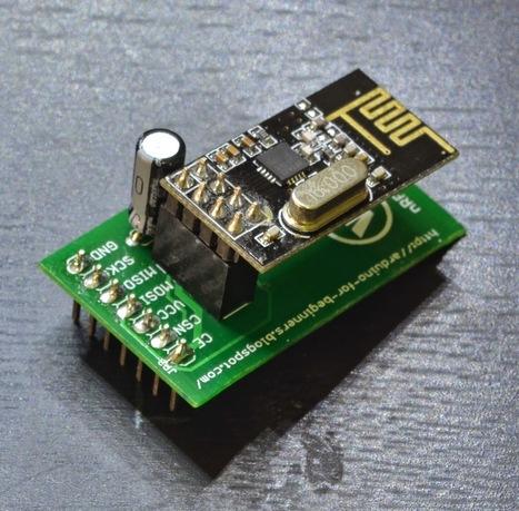 Arduino UNO nRF Adapter | Arduino, Netduino, Rasperry Pi! | Scoop.it