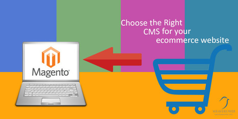 Magento: The Right CMS To Develop Your Ecommerce Website | Web Design, Development and Digital Marketing | Scoop.it