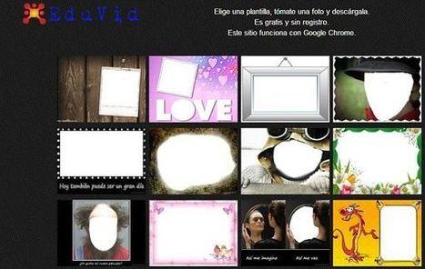 EduVid, crea divertidos fotomontajes a través de la webcam del ordenador | Las TIC y la Educación | Scoop.it
