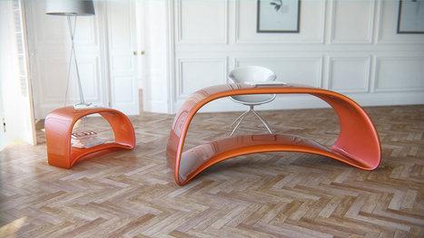 Ultra-Contemporary Table, Desk & Storage Option | Art, Design & Technology | Scoop.it