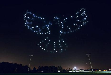 VIDEO. À Disney World, les drones remplacent le feu d'artifice de Noël | Fédération Belge du Drone civil | Scoop.it