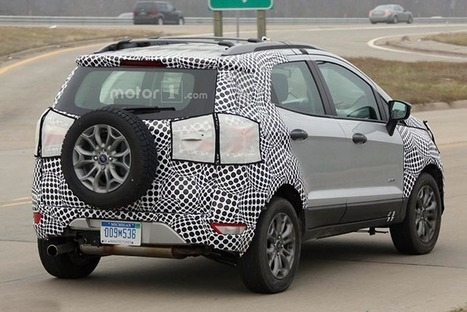 Ford Ecosport 2017 trên đường thử tại Brazil   napthungcanopy   Scoop.it