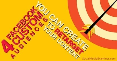 How to Retarget Content to Facebook Custom Audiences | | social | Scoop.it