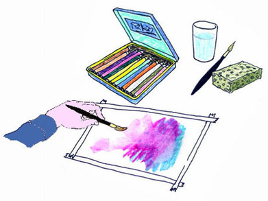 ¿Cómo utilizar los lápices acuarelables? - Tiempo Libre - Wiki - Tiempo Libre - Biensimple.com | watercolor techniques | Scoop.it