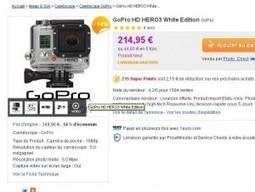 Camera Go Pro Hero 3 white edition à moins de 195 euros (faire vite) | GO PRO | Scoop.it