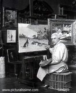 11mai 1824 naissance de Jean Léon Gérôme | Racines de l'Art | Scoop.it
