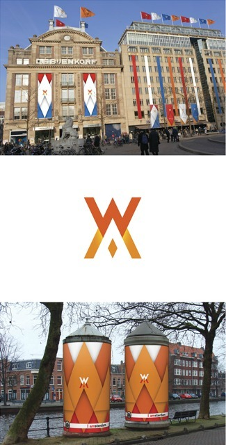 Amsterdam prepares for Inauguration Celebrations with Royal design | timms brand design | Scoop.it