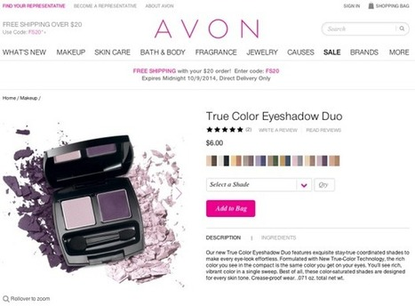 How Avon Is Retooling Its Digital Game - Fashionista | La beauté sous tous les angles | Scoop.it