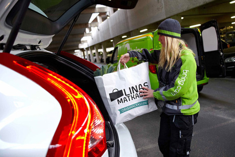 Volvo tests grocery delivery to connected cars instead of your home | Changing face of Retail | Scoop.it