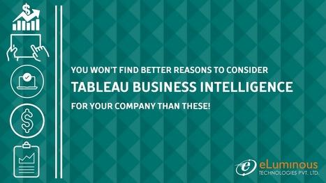 Tableau Business Intelligence   eLuminous Technologies   PHP development Company   Scoop.it