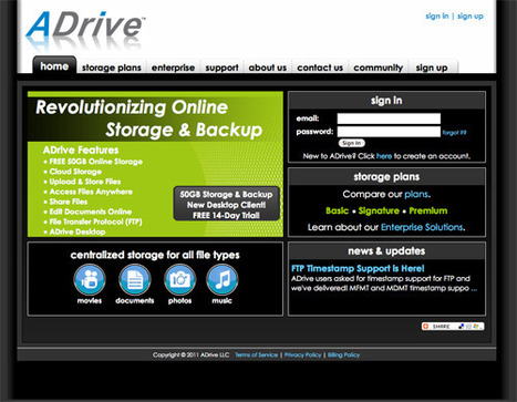 15 Cloud Storage Sites détails | Time to Learn | Scoop.it