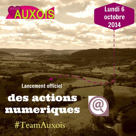 Lancement de l'action numérique  des offices de Tourisme de l'Auxois | Animation Numérique de Territoire | Scoop.it