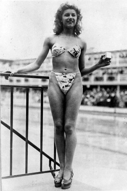 The First Bikini, 1946 | Xposed | Scoop.it
