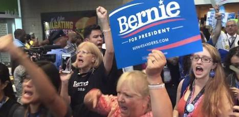 Bernie Sanders Supporters Just Staged a Massive Walkout at the DNC | Global politics | Scoop.it