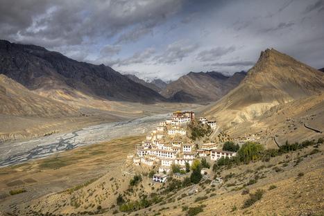 Un monasterio en un aislado valle en altura, en India. | Viaja Maja! | Scoop.it
