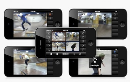 An in depth review of CollabraCam: An iphone/ipad app for multi-camera video production - The Next Web | SquishClip | Scoop.it