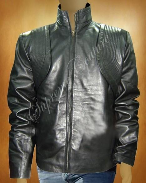 Star Trek into Darkness:Zoe Saldana Leather Jacket | WOMEN JACKETS | Scoop.it