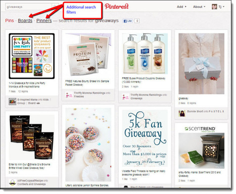 4 Ways to Use Pinterest to Rank High in Search Engines | Jeffbullas's Blog | digistrat | Scoop.it