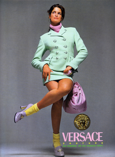 A Very Serious Retrospective of Vintage Versace Ads | Messy Nessy ... | Vintage living | Scoop.it