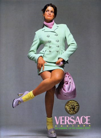 A Very Serious Retrospective of Vintage Versace Ads | Kitsch | Scoop.it