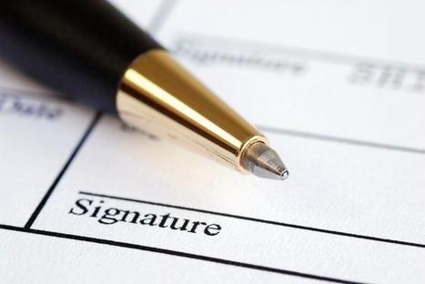 Cinq conseils à suivre avant de signer un contrat de franchise | Forum des commerces | Scoop.it