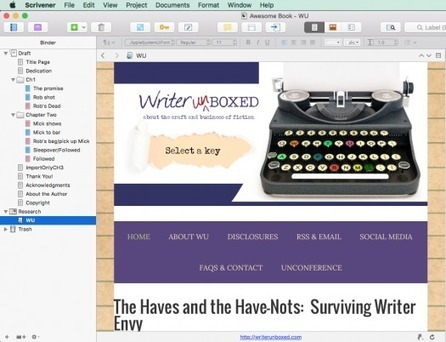 Importing Files into Your Scrivener Project | Scrivener, lecture et écriture numérique | Scoop.it