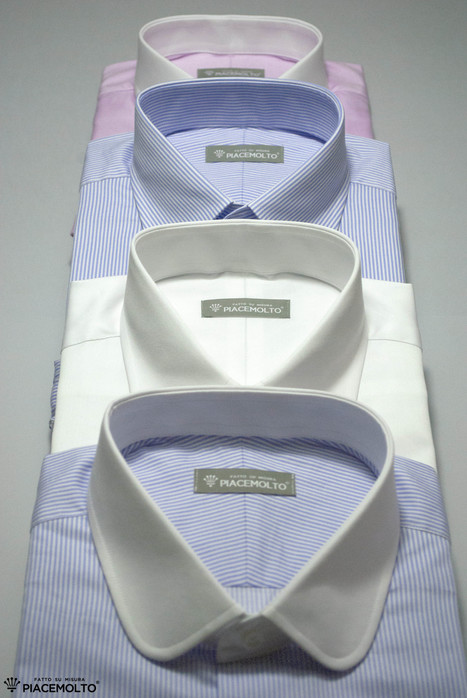 Piacemolto® tailored shirts represent quality. Our bespoke shirts are made using only double twisted fabrics, buttons in mother-of-Pearl and fine finishes. | Camicie uomo su misura....consigli, curiosità e molto altro | Scoop.it