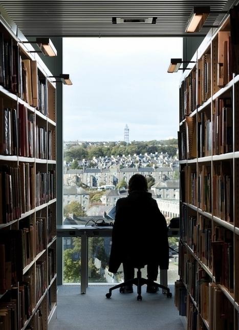 Ecosse : une nouvelle et luxueuse bibliothèque à Aberdeen   Trucs de bibliothécaires   Scoop.it