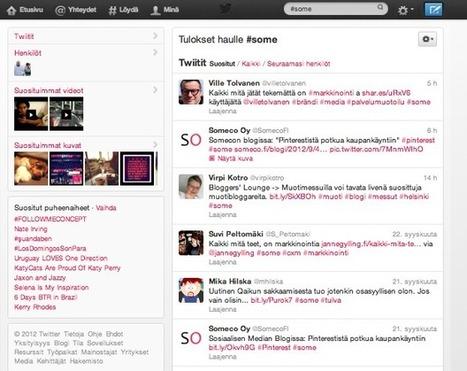 Mikä ihmeen Twitter? - Someco Oy - Sosiaalinen media | Twitter - perustietoa, vinkkejä ja linkkejä | Scoop.it