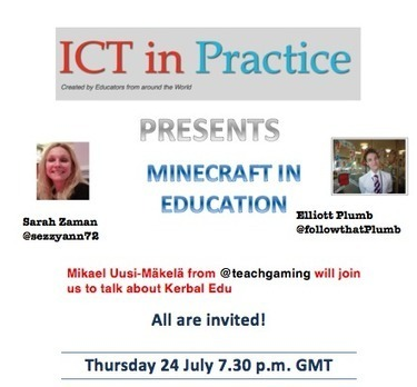 Google Hangouts: Minecraft in Education | ICT in Practice | ANALYZING EDUCATIONAL TECHNOLOGY | Scoop.it