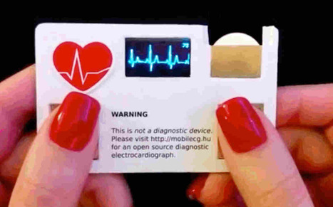 Business card with built-in ECG is perfect for cardiologists | mHealth- Advances, Knowledge and Patient Engagement | Scoop.it