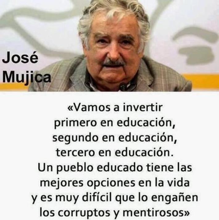 José Mújica: vamos a invertir en educación. Tweet from @YoEPublica | Partido Popular, una visión crítica | Scoop.it