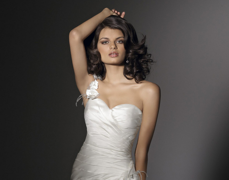 Angelina Faccenda 1201, from Madame Bridal. | Bridal Fashions | Scoop.it