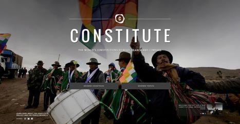 Base de données des constitutions dans le monde | Journalisme graphique | Scoop.it