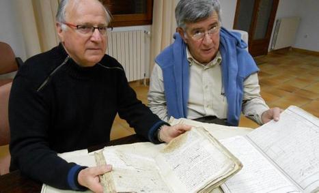 Patrimoine : les registres anciens restaurés | Garidech | Scoop.it