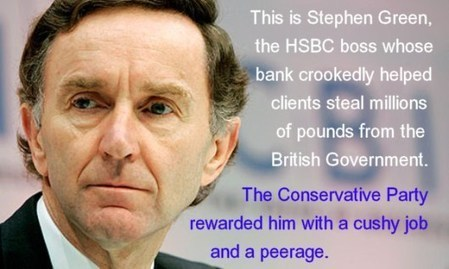 HSBC - the tax-dodging bank with a Tory chairman | The Greater Fool | Scoop.it