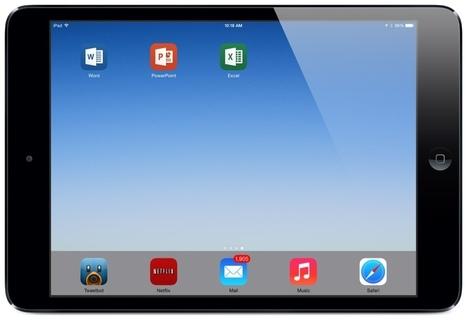 Microsoft Office for iPad? A Teacher's Opinion - teachingwithipad.org   IPad your classroom   Scoop.it
