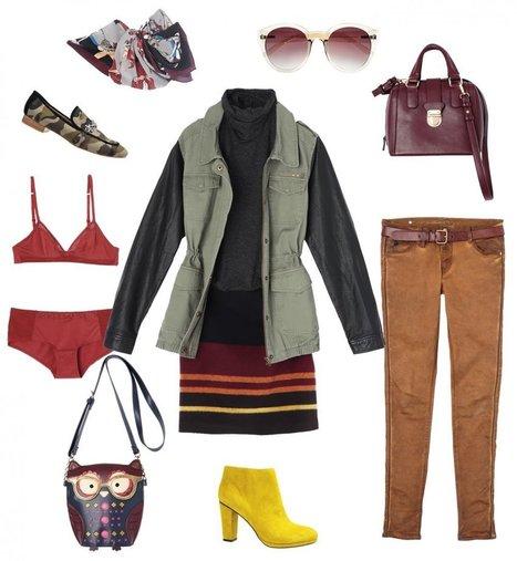 Comment porter la veste bi-matière?   La mode en France   Scoop.it