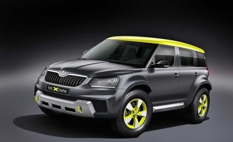 2014 Skoda Yeti Xtreme Rally SUV Concept | CarsPiece | Scoop.it