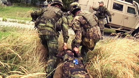 Joint Medic Exercise in Prague | Czech Army in the world | Scoop.it