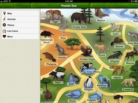 Daily iPad App: Pocket Zoo HD | TUAW - The Unofficial Apple Weblog | iPad Resources | Scoop.it